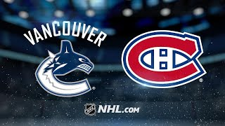 Alzner, Gallagher lead Canadiens past Canucks, 5-2