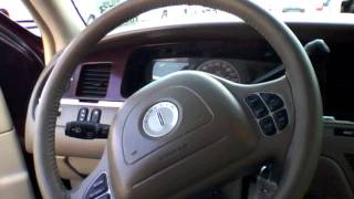 2004 Lincoln Town Car Start Up, Quick Tour, & Rev With Exhaust View - 105K (MINOR Burnout) videos