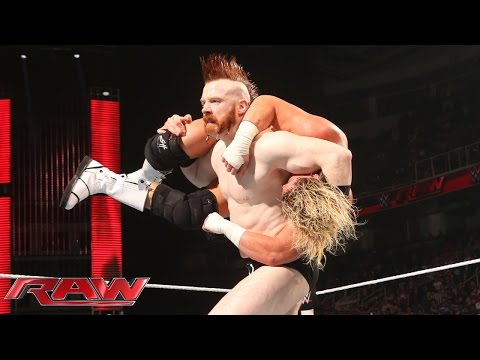 Sheamus returns with a surprise assault on Dolph Ziggler and Daniel Bryan: Raw, March 30, 2015