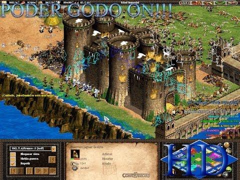 ¡PATEANDO TRASEROS CON GODOS! |  Partida de cba original online #2 | Age of Empires 2 the Conquerors