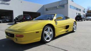 1998 Ferrari 355 F1 Spider Start Up, Exhaust, and In Depth Tour