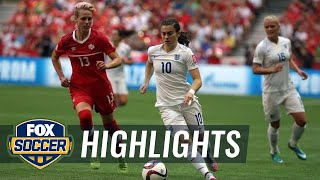 England vs. Canada - FIFA Women's World Cup 2015 Highlights - Duration: 1:17.