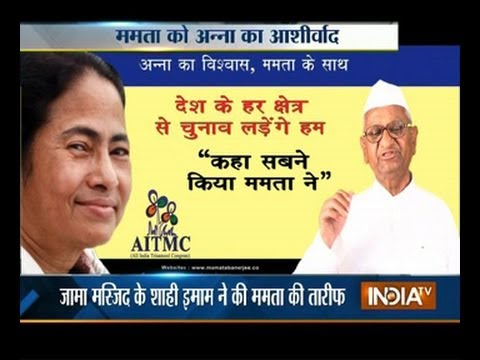 Anna Hazare to release campaign video for Mamata Banerjee
