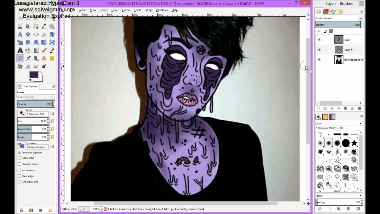 Как сделать самому арт через фотошоп