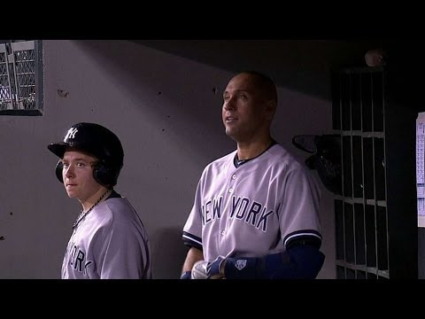 NYY@SEA: Jeter gets warm ovation during final at-bat