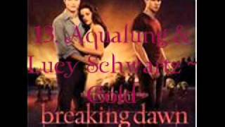 13. Aqualung & Lucy Schwartz Cold (Breaking Dawn Part