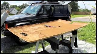 Jeep Cherokee XJ Headliner Install
