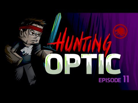 Minecraft: Hunting OpTic - Finding Their Sky Base! (Episode 11)
