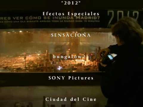 EFECTOS ESPECIALES sobre maquetas. Promoción Film 2012 .Ortomaqueta Madrid  maquetas ederlan 2010