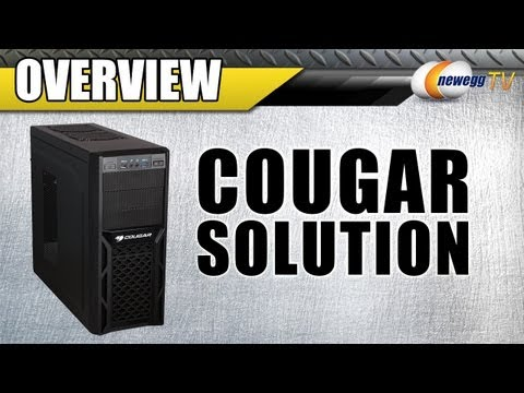 Newegg TV: COUGAR Solution ATX Mid Tower Black Steel Computer Case Overview