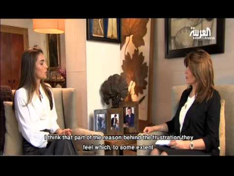 Queen Rania Interview with Al Arabiya