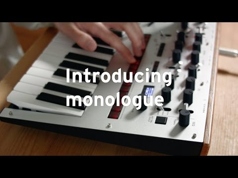 Korg Monologue Analogue Synthesizer (Dark Blue)