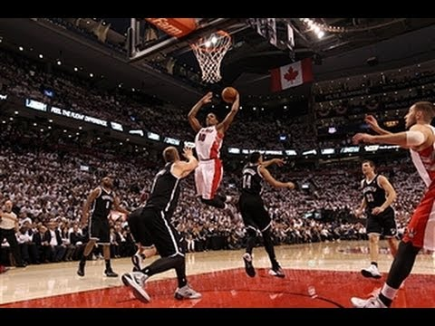DeMar DeRozan Pounds Home the Left-Handed Hammer