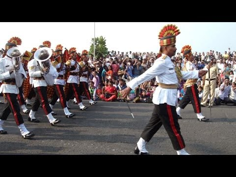 Republic day grand parade at Marine Drive, Mumbai - India - 26th Jan 2014 - Part 4