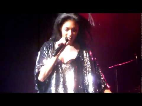 Nicole Scherzinger - Baby Love (incl fela break) - Dublin, Olympia Theatre - 2012-02-16