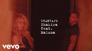 Shakira - Chantaje (Cover Audio) ft. Maluma