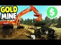 1 000 000 GOLD MINE ASSEMBLY OPERATION Gold Rush The Game Gameplay