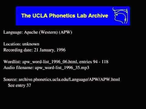 Western Apache audio: apw_word-list_1996_35