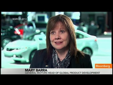 GM's New CEO Mary Barra: I Love Inspiring Women