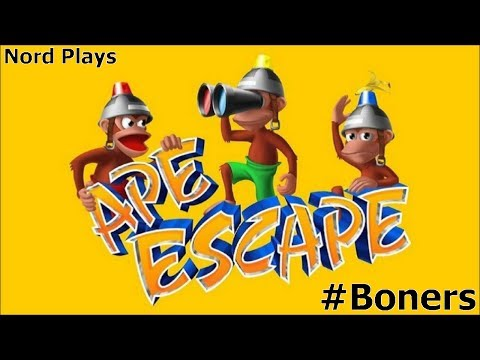 Let's Play Ape Escape [Boners] - Mini Gamez