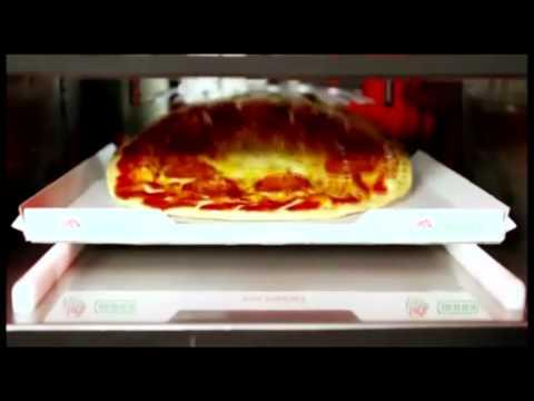 Así es una máquina expendedora de pizzas