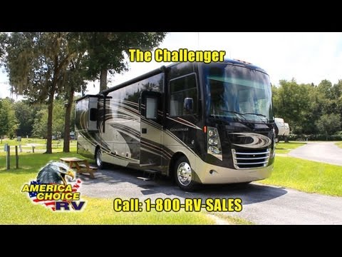 2014 Thor Challenger 37LX Class A Gas Ford Motorhome RV at America Choice RV