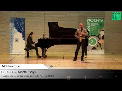 Fantasie brillante sur des airs de Carmen by Franc?ois BORNE – Nicola PERETTO (Italy)