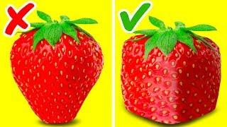 47 INCREDIBLE FRUIT TRICKS