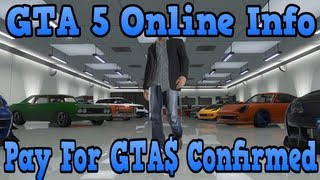 """GTA 5 Online"" Microtransactions Confirmed Online! ( Pay"