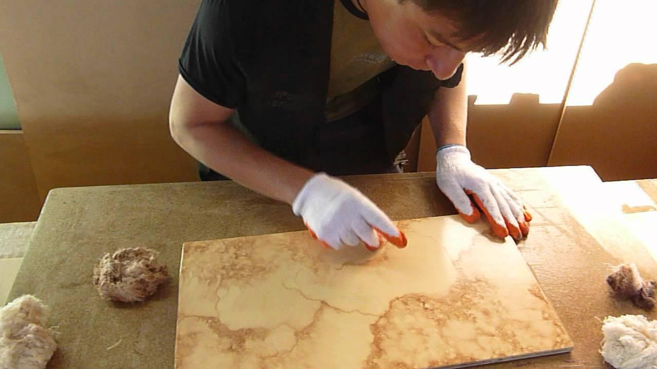 Imitacion a piedra marmol youtube for Pintura color marmol
