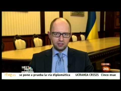 Arseniy Yatsenyuk.   Putin y la URSS