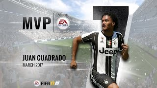 Juan Cuadrado, March MVP powered by EA!