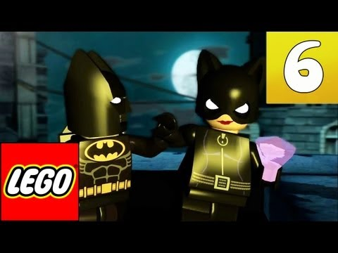 LEGO: Batman The Video Game - Part 6 - Catwoman, the best one
