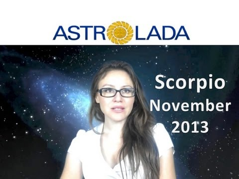 SCORPIO NOVEMBER 2013 with astrolada.com