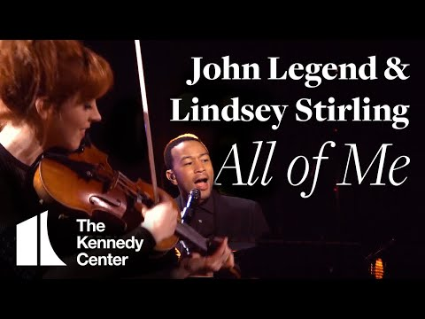 John Legend with Lindsey Stirling,