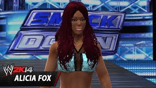 WWE 2K14 Community Showcase: Alicia Fox (PlayStation 3