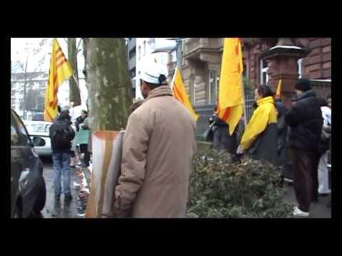 2/2 - 17.01.2009 Biểu Tình Trước Lảnh Sự Quán Trung Cộng và Cộng Sản Việt Nam