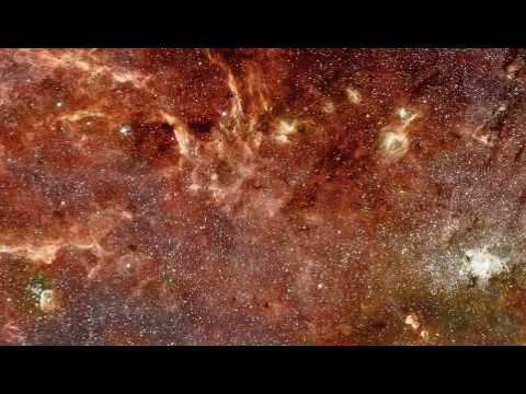 The Galactic Core in Infrared - Astronomy Picture of the Day - 2009 January 7
