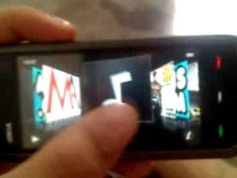 Deixando o Nokia 5233 igual ao Iphone