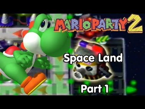 Mario Party 2! Space Land - Part 1