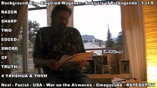 Siegfried Wagner World War 2 NAZI RUSSIAN AXIS  1 of 8  Analysis of Propaganda Radio