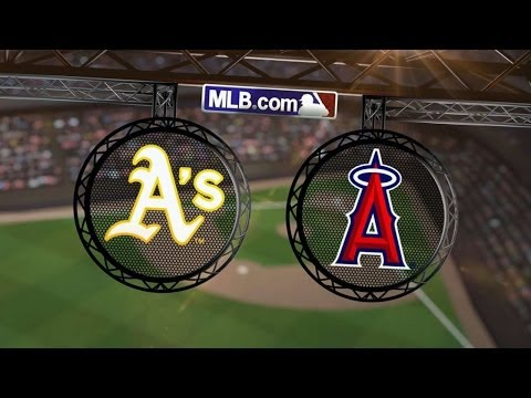 6/9/14: A's lose grip on Angels' Richards