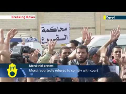Morsi trial suspended: Mohammed Morsi trial adjourned after protest