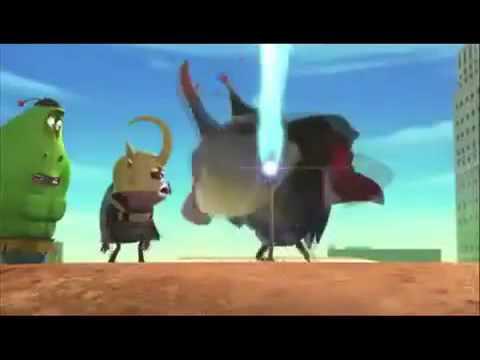 Biệt đội siêu anh hùng ấu trùng Larva
