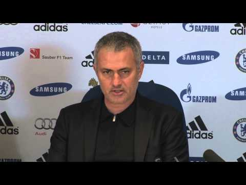 JOSE MOURINHO SAYS CHELSEA STILL IN TRANSITION