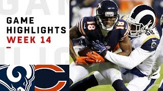 Rams vs. Bears Week 14 Highlights | NFL 2018