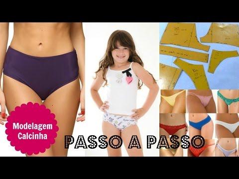 Molde de calcinha Alana Santos Blogger
