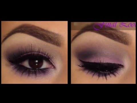 Purple Easy Smokey dress  makeup Eye YouTube  brown for  eyes Tutorial blue