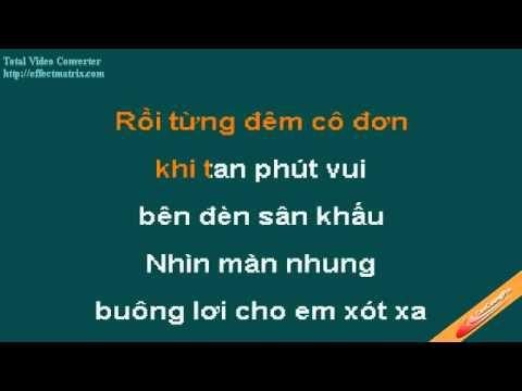 Hat Cho Mot Dong Song Karaoke  Lam Hung - CaoCuongPro
