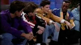 New Kids On The Block On Arsenio Part 3!